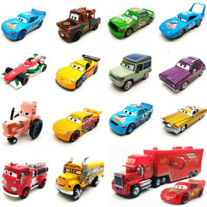 Disney Pixar Cars All series Lightning McQueen Racers 1:55 Diecast Kid Toy Loose