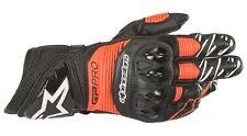 Alpinestars GP Pro R3 Gloves Gr. M schwarz rot fluo Racing Motorradhandschuhe