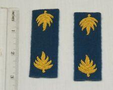 Civil War Federal Narrow Subdued major shoulder straps
