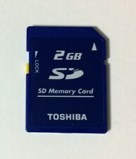 USED TOSHIBA SD Memory Card 2GB for Nintendo 3DS JAPAN import Japanese game