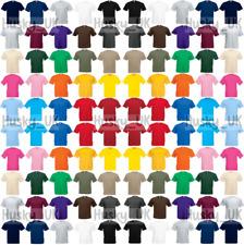 Fruit of the Loom Cotton Plain Blank Men's Women's Tee Shirt Tshirt T-Shirt NEW