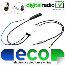 Universal DAB + Antena Interna activo AM FM Antena Divisor de radio estéreo de coche