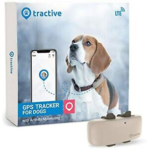 Tractive LTE GPS Dog Tracker - Location & Activity Tracker for Dogs with