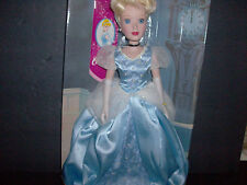 "Cinderella Porcelain Princess Doll -Disney 14"" Tall New Brass Key Collection"