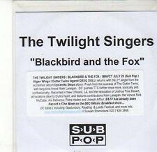 (CA586) The Twilight Singers, Blackbird and the Fox - DJ CD