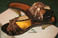 "Scarpe/Ballerine/Decolte'/Sabot/Woman Shoes""ROSMARY""Italy/Tg.38/Tacco cm.6,5"