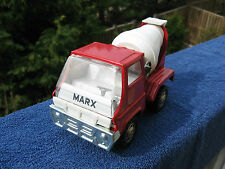 Vintage 1968 (MCMLXVIII) Marx Cement Mixer Truck Pressed Steel Louis Marx & Co