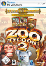 Microsoft Zoo Tycoon 2 - Zoodirektor Sammlung (PC, 2006) Deutsch in DVD Hülle