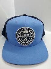 Philadelphia Union MLS Soccer Adidas Blue Snapback Hat Cap