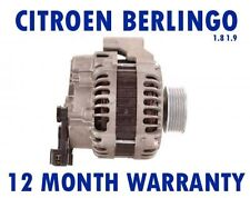 CITROEN BERLINGO (MF) BOX 1.8 1.9 D MPV 1996 1997 1998 - 2015 RMFD ALTERNATOR