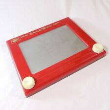 Vintage Toy Game  Red Magic Etch A Sketch Screen Ohio Art