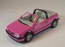 Schabak 1/43 1006 VW Golf Cabrio pink in Werbebox #1056