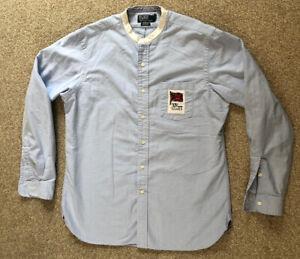 Ralph Lauren Polo Men's Shirt Great Britain XIV Olympic Games 1948 Large Grandad