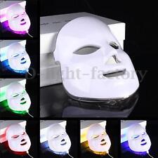 7 Colors Light Photon LED Facial Mask Skin Rejuvenation Beauty Therapy NEW