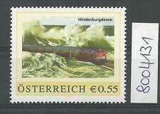 """Österreich PM personalisierte Marke Eisenbahn """"Hindenburgdamm""""  **"""