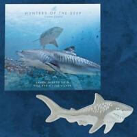 Solomon Island - 3D Tigerhai - 2$ 2020 BU - Silber - 31,1 Gramm