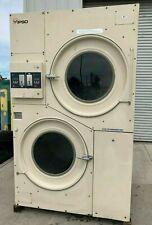 Ipso/Cissell Stack Dryer Coin Op 75Lb,208-240V 3Ph 60Hz, S/N:1606000150 [Refurb]