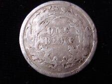 United States of America 1861S Dime Silver Coin Rare Date #PZ40