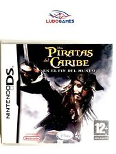 Piratas Caribe Fin Mundo Nintendo DS PAL/SPA Retro Precintado Sealed Nuevo New