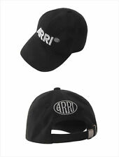 ARRI Black Cap Unisex Adjustable Snapback Baseball Hat Canon Linhof Cotton