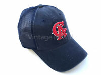 American Needle Cooperstown Blue Wash/ Red California Angels MLB Trucker Hat Cap