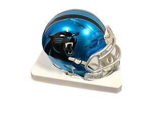 Greg Olsen Carolina Panthers Signed BLAZE Mini Helmet JSA