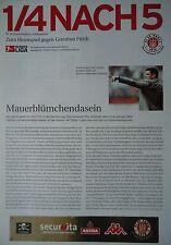 Programm Info 2002/03 FC St. Pauli - Greuther Fürth