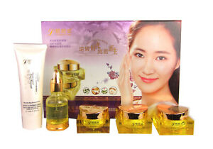 Beauty Gift Set Skin Whitening Facial Hydrating Cleanser Day Night Cream UK