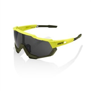 100% Speedtrap - Soft Tact Banana - Black Mirror Lens