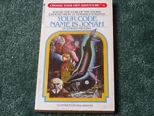 Your Code Name Is Jonah Choose Your Own Adventure 6 - Edward Packard - P/back