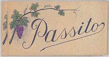 ETICHETTE d'epoca VINTAGE per VINO : PASSITO