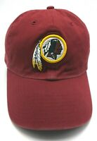 WASHINGTON REDSKINS red adjustable cap / hat - 100% cotton
