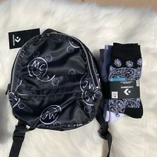 Miley Cyrus X Converse Mini Backpack Socks Sold Out Rare New