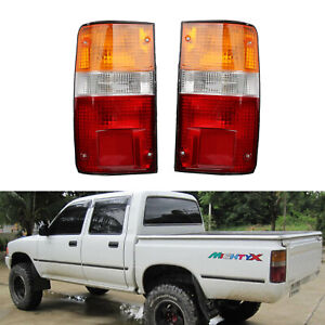 Pair Tail Lights Rear Lamp for Toyota Hilux MK3 1989-1995 LN RN YN  Pickup 2-4WD