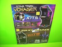 Team Play 2003 NOS Arcade Flyer Star Trek Voyager Police Trainer 2 Crossfire
