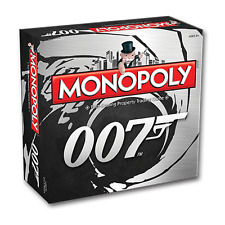 BRAND NEW WINNING MOVES MONOPOLY: 007 MONOPOLY 002169 BOARD GAME