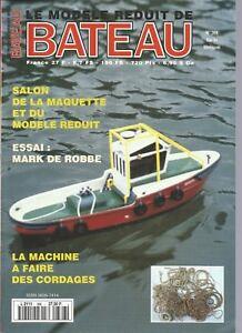 MODELE REDUIT DE BATEAU N°366 MACHINE A FAIRE DES CORDAGES / LANGOUSTIER CAMARET
