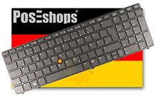 ORIG. QWERTZ teclado hp elitebook 8560w 8570w retroiluminada iluminado Backlight de!