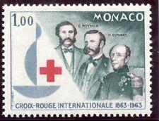 STAMP / TIMBRE DE MONACO N° 608 ** CELEBRITES / MOYNER HENRI DUNANT ET DUFOUR