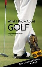 What I Know about GOLF : Blank Gag Book by Rich Ferguson (2014, Paperback)