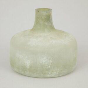 LIGHT & LIVING CABIMAS Glass Decor Vase in GREEN