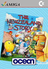 A4 Commodore Amiga Game System Poster – The New Zealand Story (Picture Gaming)