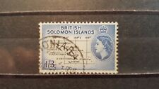 SOLOMON ISLANDS CLASSICS 1956 MI.NR. 92 w.m. 2