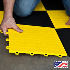 Garage Floor Coverings Coin Yellow - Made In the USA