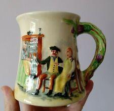 Crown Devon - Fieldings  - Auld Lang Syne Musical  Mug / Tankard - circa 1935