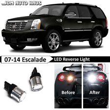 White High Power Reverse Backup 7440 LED Lights Fits 2007-2014 Cadillac Escalade