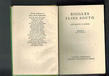 W. E. JOHNS  Biggles Flies South - 1950 hardback