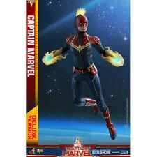 Hot Toys Movie Masterpiece Captain Marvel Deluxe 6th Scale Action Figure NEW