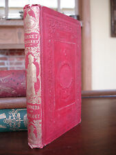WONDERS OF GEOLOGY Book 1853 - Charles Lyell- Beautiful Red Cloth Edition