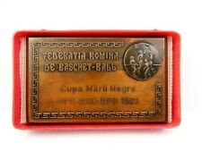 1963 Romania Basketball Federation Black Sea Cup Official Participation Medal